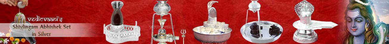 Shivling Abhishek in Silver