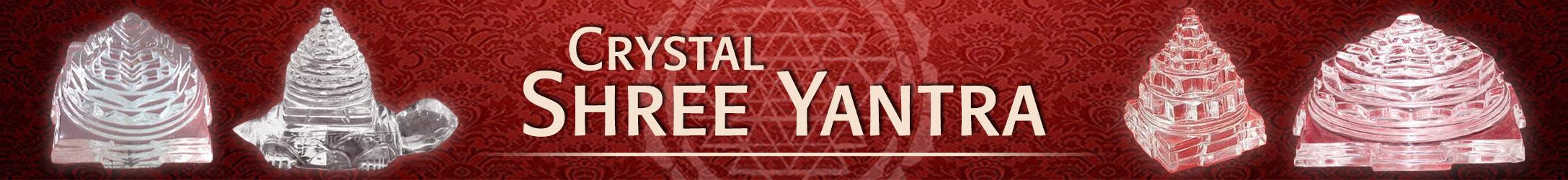 Crystal Shree Yantra