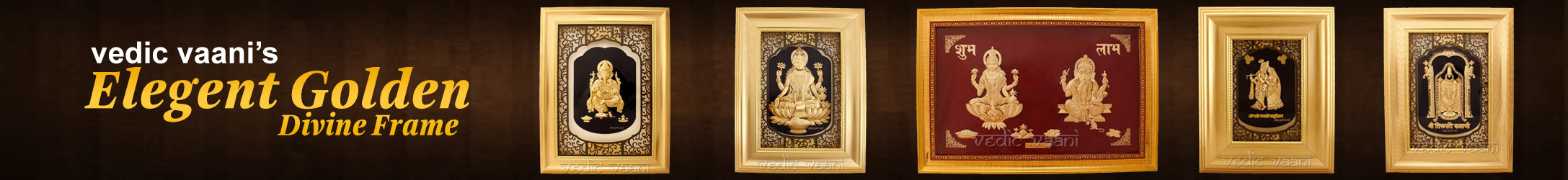 Elegant Golden Divine Frame