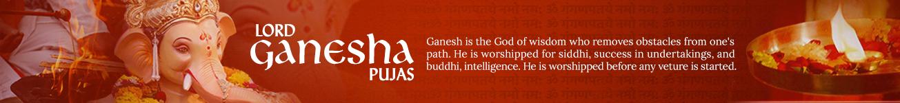 Lord Ganesh Pujas