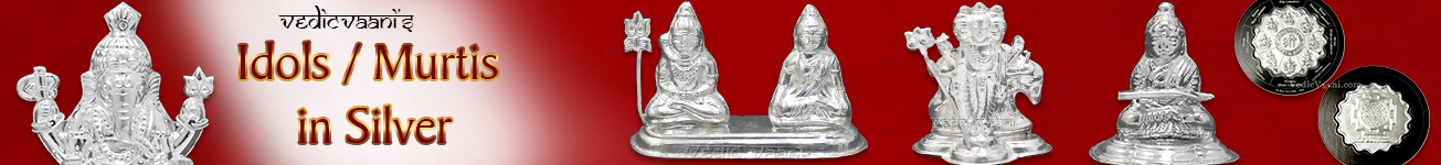 Idols / Murtis in Silver
