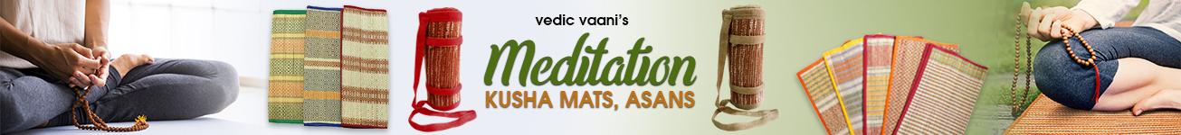 Meditation Kusha Mats, Asans